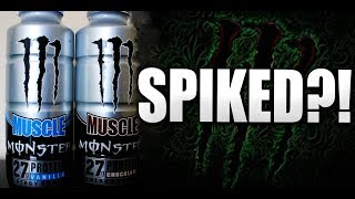 Muscle Monster Protein Shake (AMINO SPIKED?)