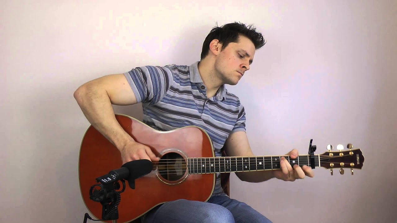 let it go frozen acoustic fingerstyle interpretation youtube