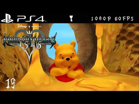 [PS4 1080p 60fps] Kingdom Hearts Walkthrough Part 19 100 Acre Wood - KH 1.5 + 2.5 HD Remix