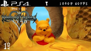 [PS4 1080p 60fps] Kingdom Hearts Walkthrough Part 19 100 Acre Wood - KH HD 1.5 + 2.5 Remix