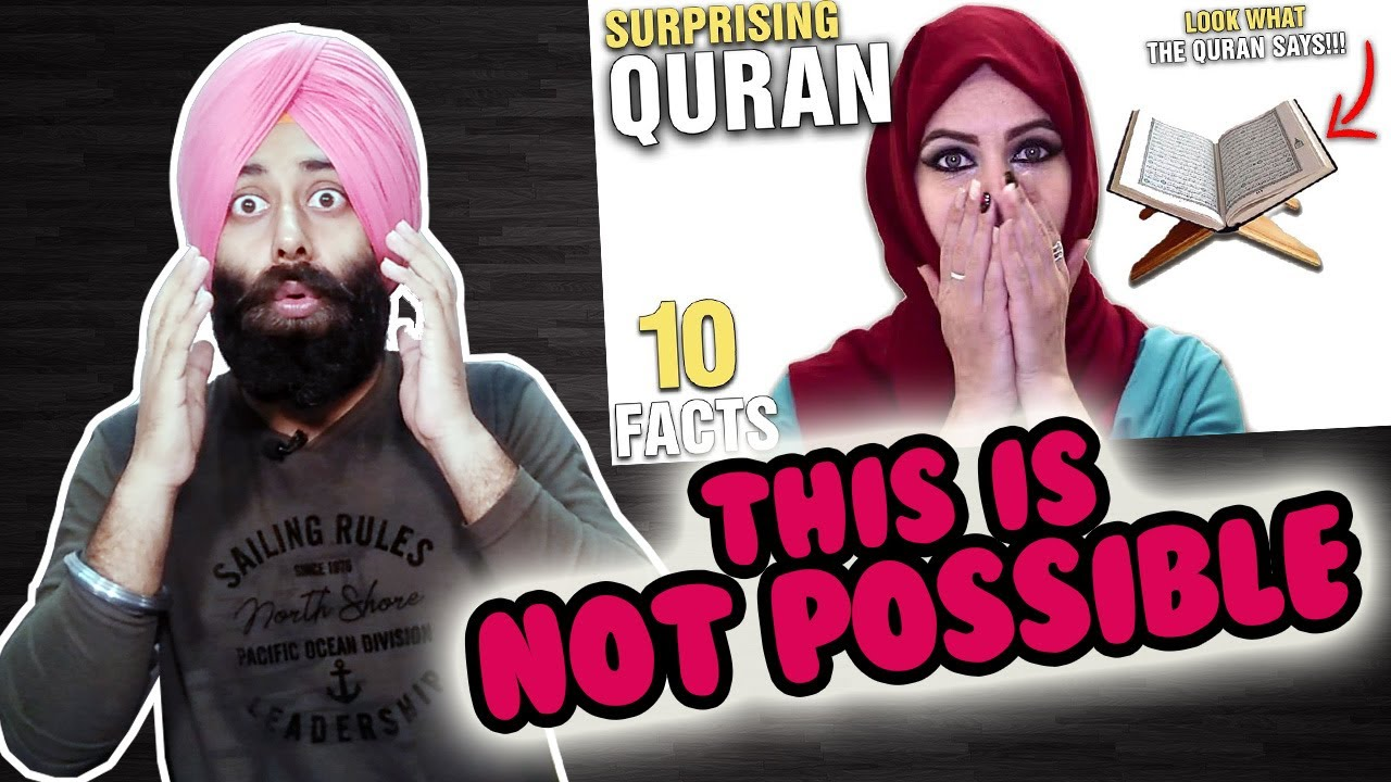 Indian Reaction on 10 Surprising Things Mentioned In The Quran - PART 2