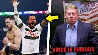 Vince McMahon FURIOUS & Emotional After CM Punk & Daniel Bryan BETRAY WWE To Join AEW In 2021 LEAKED