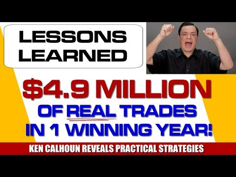 $4.9 Million in Real Trades: Lessons Learned Ep#039