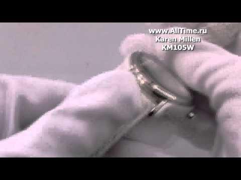 Женские наручные fashion часы Karen Millen KM105W