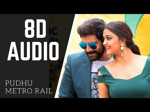 Saamy² | 8D AUDIO | Pudhu Metro Rail | use headphones
