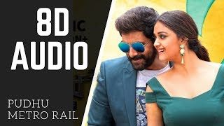Saamy² | 8D AUDIO | Pudhu Metro Rail | use headphones