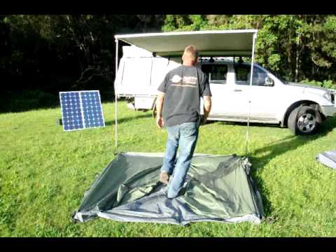 Aussie Outdoor Direct Pop UpSide Tent & Aussie Outdoor Direct Pop UpSide Tent - YouTube