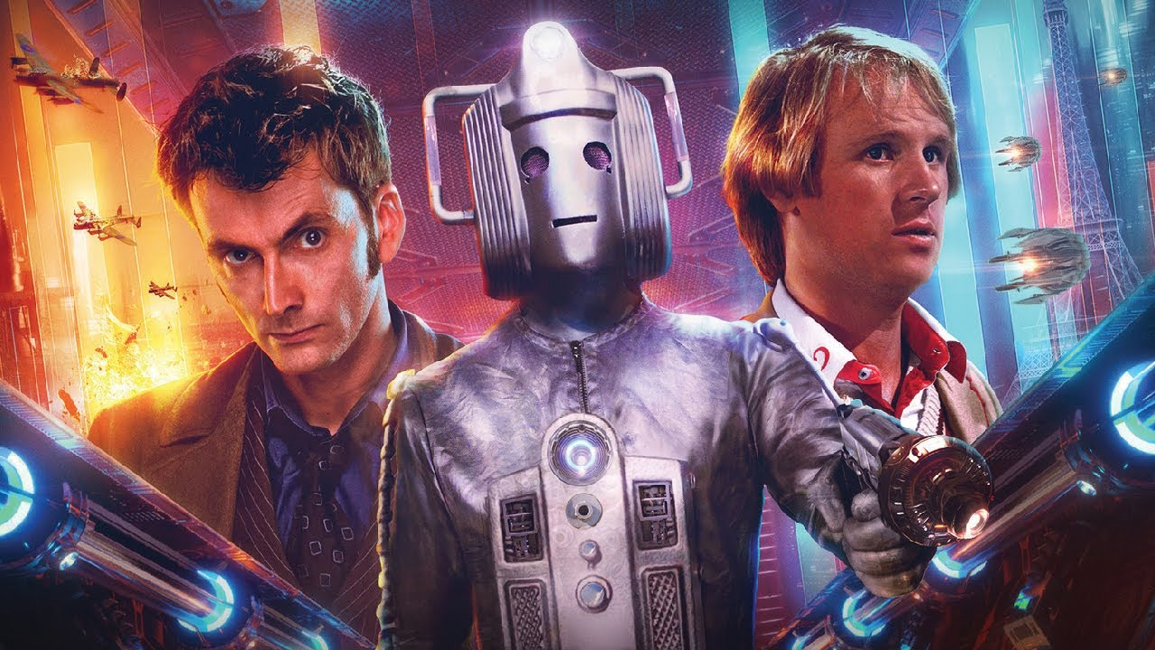 Tenth and Fifth Doctors Reunited! | Out of Time 2 Trailer | Doctor Who