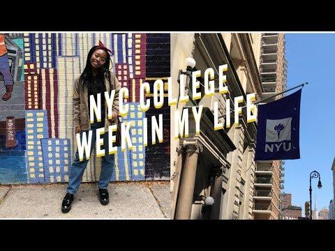 nyc college week in my life at nyu