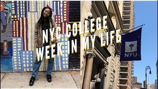 nyc college week in my life at nyu