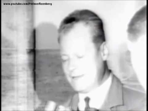 November 22, 1963 - Mayor of West Berlin, Willy Brandt, mourning death of President John F. Kennedy