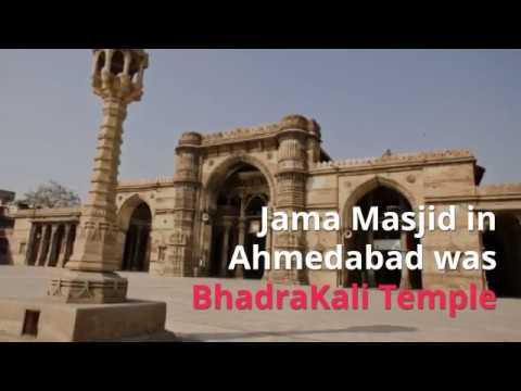 Ahmedabad Jama Masjid originally was Bhadrakali Temple