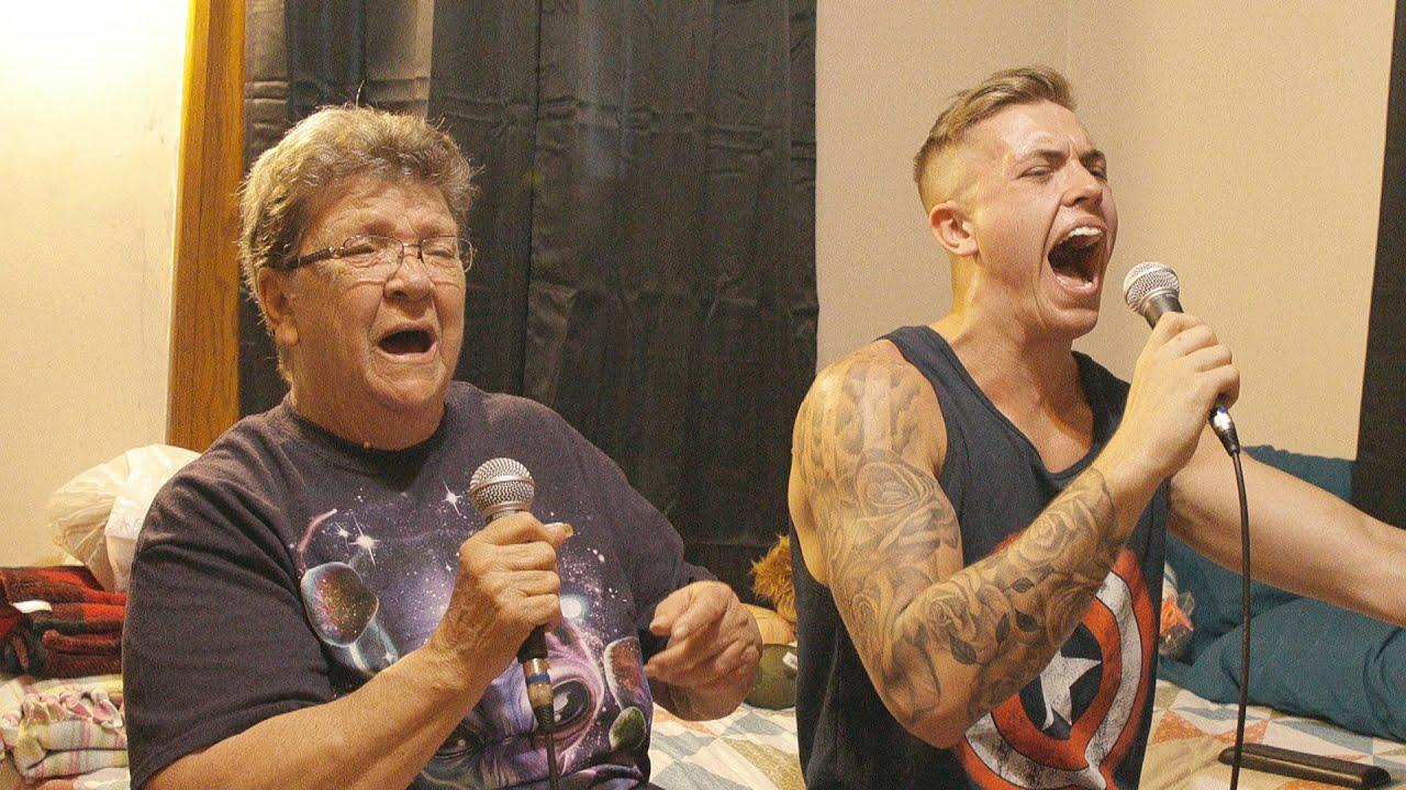 SINGING WITH ANGRY GRANDMA!