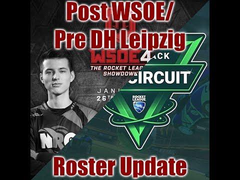 Roster Update: Post WSOE/Pre Dreamhack Leipzig