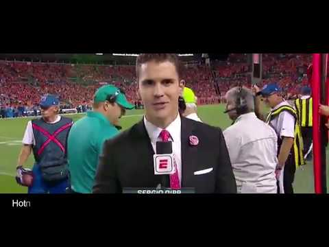 ESPN reporter's awkward 'Monday Night Football' debut