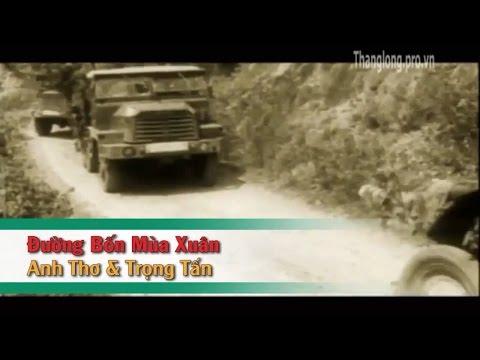 [Karaoke] Đường Bốn Mùa Xuân (SC) - Trọng Tấn_Anh Thơ (Beat HD)