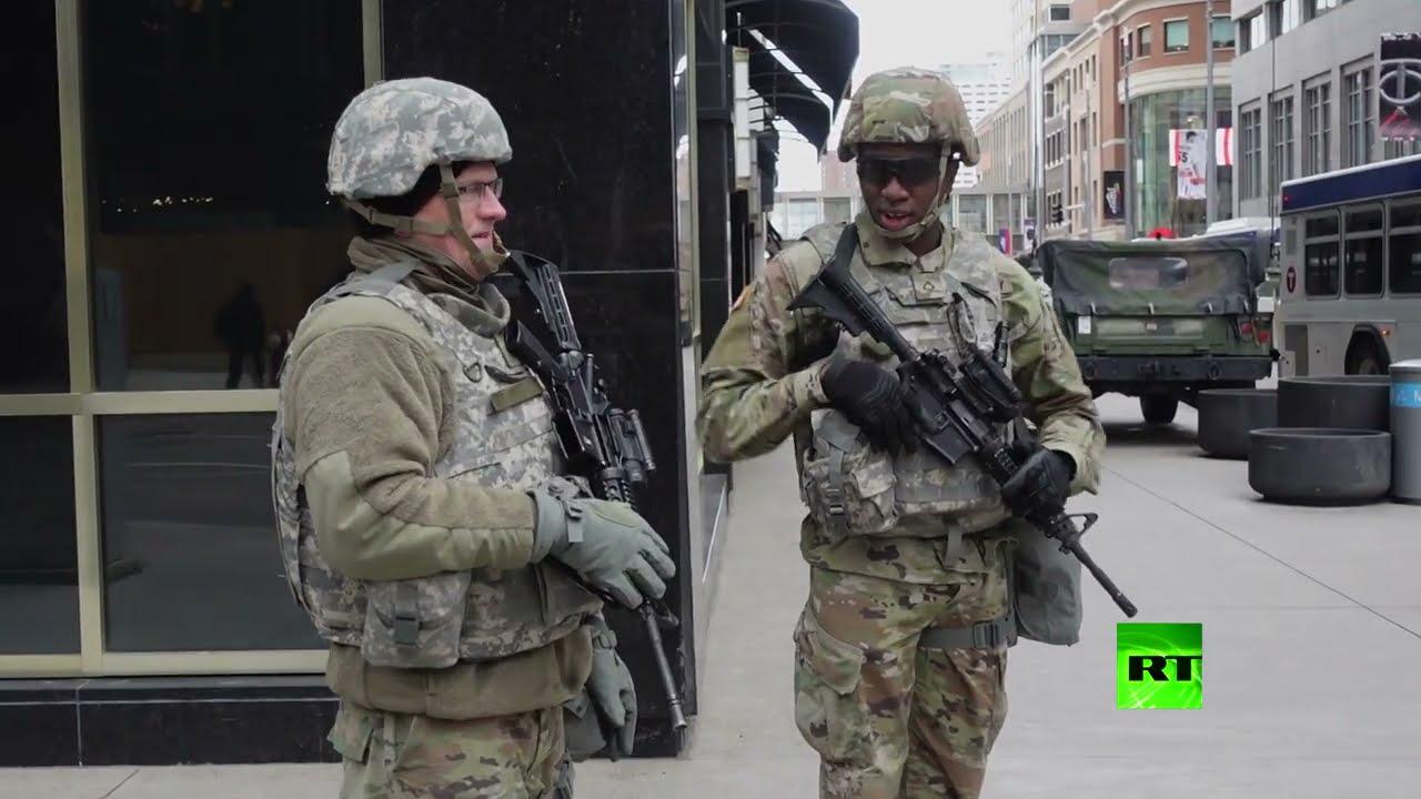 انتشار كثيف لقوات الحرس الوطنى في ولاية أمريكية  - نشر قبل 37 دقيقة