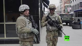 انتشار كثيف لقوات الحرس الوطنى في ولاية أمريكية