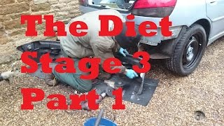 diet stage 3   part 1 peugeot 306 bumper skirts and trims