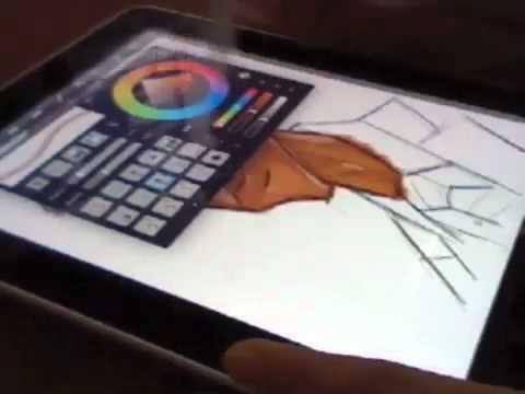 Ipad dibujando soporte articulado para pantalla tv led for Mesa para computadora