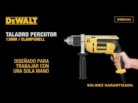 Taladro de Percusión y Rotación DEWALT 650 Watts DWD024