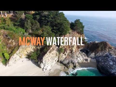 Big Sur, Mcway Falls • California •DJI Phantom 4K