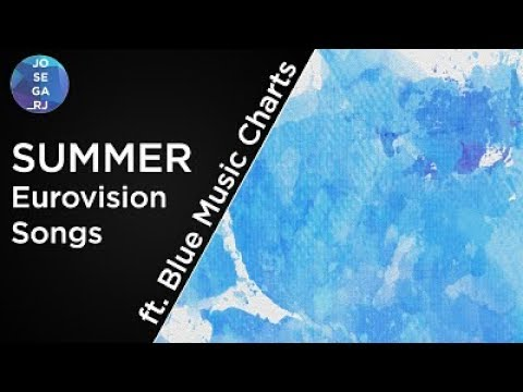 Summer Eurovision Songs | ft. Blue Music Charts