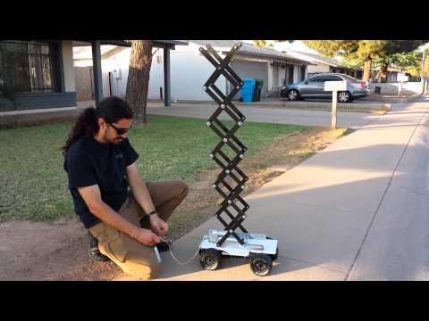 Making A Scissor Lift Funnydog Tv