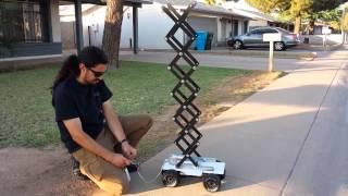 Scissor Lift Robot - Test 1