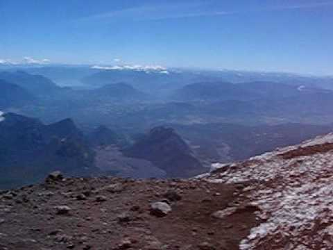 Wow - Summit of Active Volcano - Villarrica, South Chile