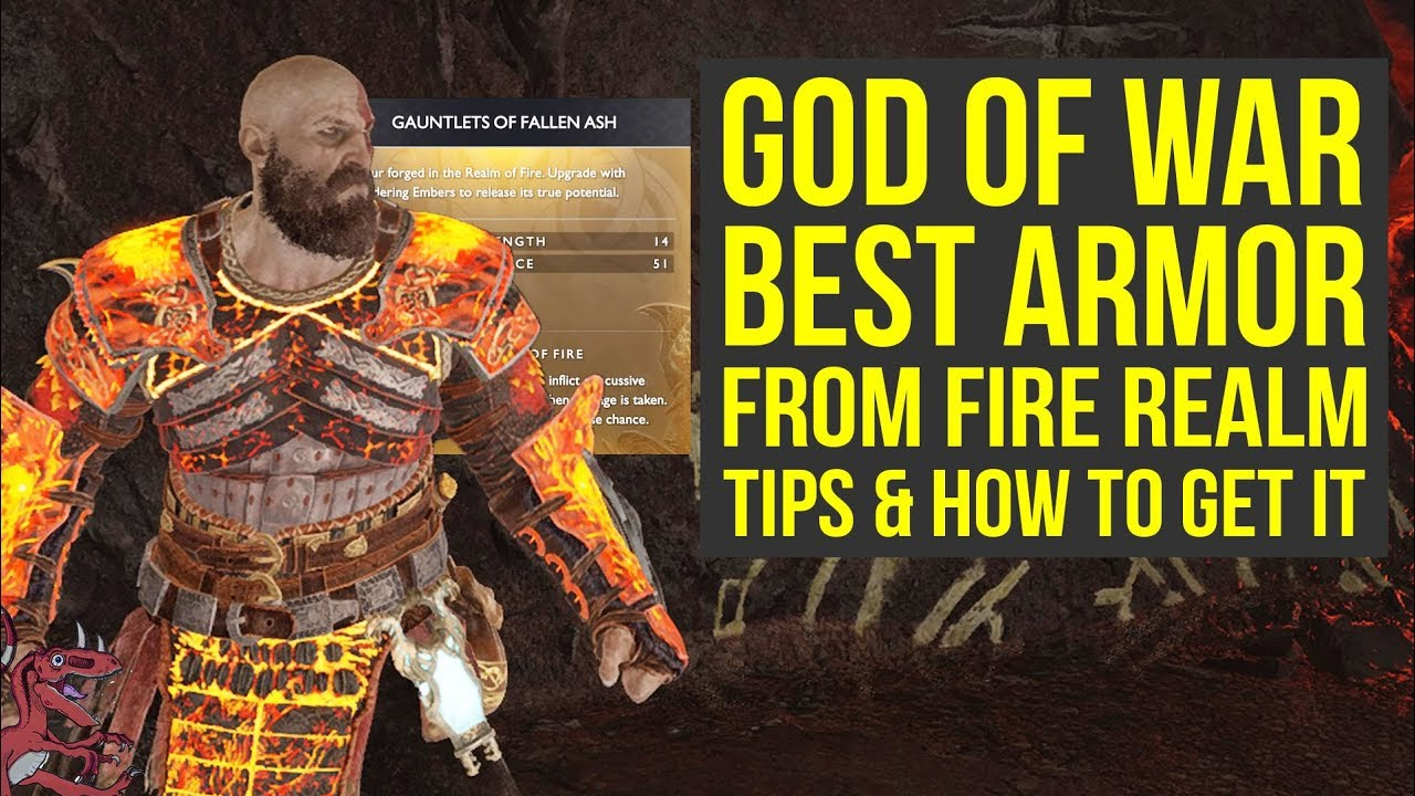 God of War Best Armor Sets FROM THE FIRE REALM - Tips & How To Get It (God  of War 4 Best Armor)