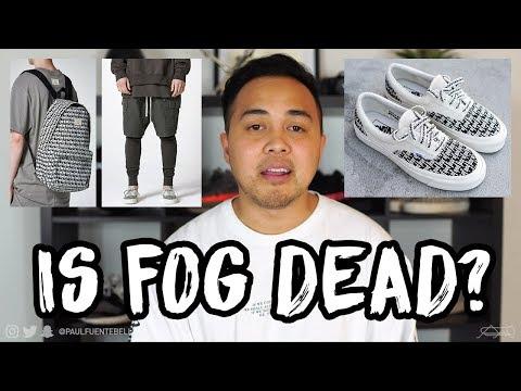Fear of God FOG Essentials x Pacsun Preview 2017