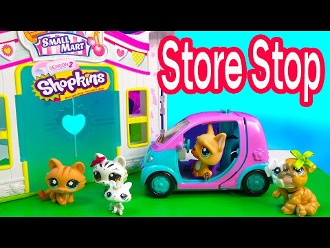 LPS Mommies Cozy Cabin Trip Vacation Littlest Pet Shop Part 2 of 4 Video Series Shopkins Season