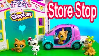 LPS Mommies Cozy Cabin Trip Vacation Littlest Pet Shop Part 2 of 4 Video Series Shopkins Season