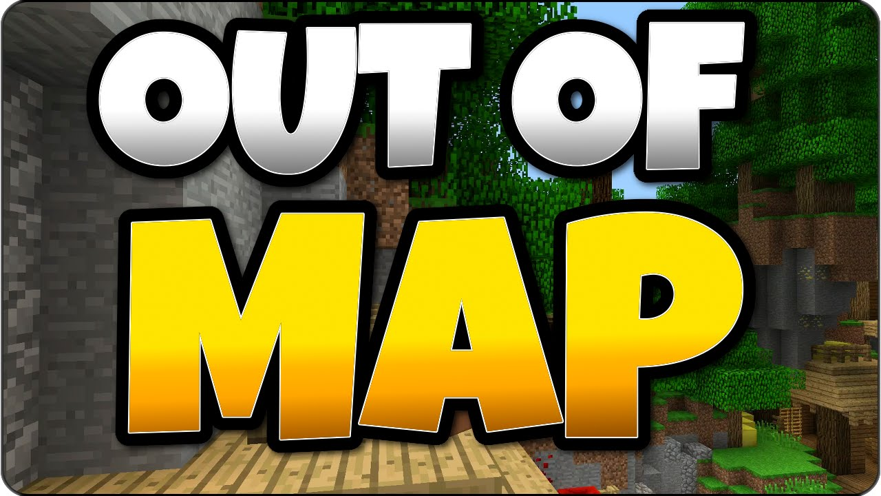 Get Out The Map Minecraft Battle Mode Out of Map Tutorial  How To Get Out of Cove
