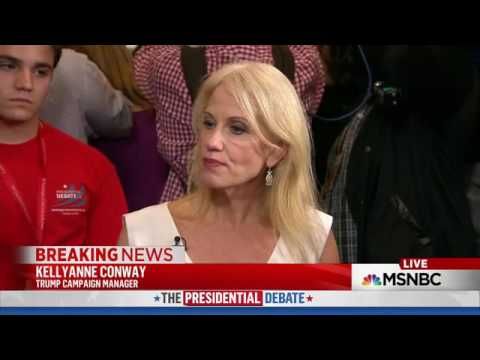 Trump Campaign Manager Awkward Moment