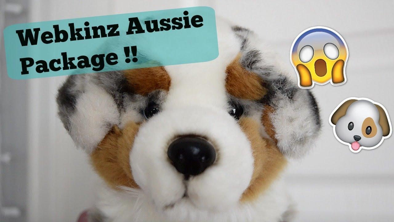 Webkinz Signature Australian Shepherd Unboxing! - YouTube  Webkinz Signatu...
