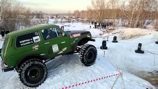 Джип-триал 12.2014 Челябинск. Экипаж 5