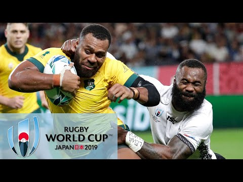 Rugby World Cup 2019: Australia vs. Fiji | EXTENDED HIGHLIGHTS | 9/21/19 | NBC Sports
