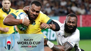 Rugby World Cup 2019: Australia vs. Fiji   EXTENDED HIGHLIGHTS   9/21/19   NBC Sports