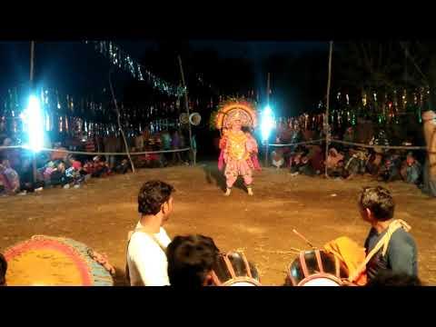 Chhau Dance in modern style, Giyasuddin...