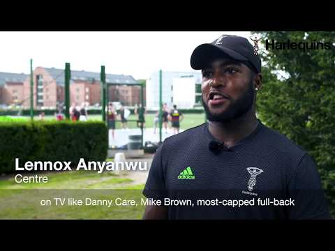 Lennox Anyanwu on life with Harlequins Academy and playing in the Premiership 7s