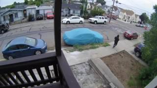CAUGHT ON CAMERA: Car Thief