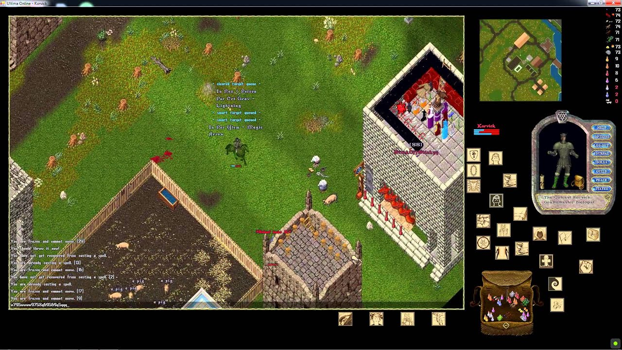 Ultima Online Forever UOSteam Sallos Install - Launcher Beta