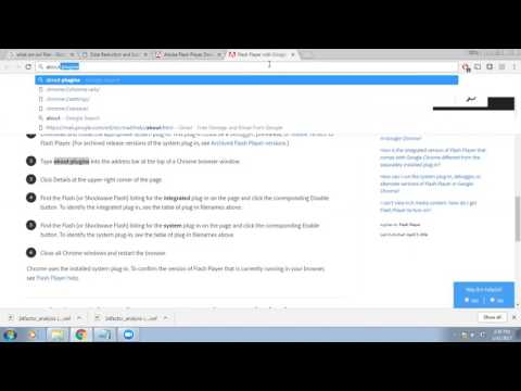 How To Play SWF - Shockwave Flash File Using Chrome Browser