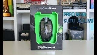 Teknosa Preo My Game M-06 Gaming Mouse Kutu Açılımı