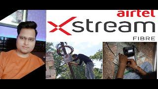 Airtel xstream Fiber Broadband Installation   Airtel Fiber Broadband Full Detail Plan