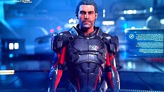 MASS EFFECT ANDROMEDA Pathfinder Team Briefing Trailer (Meet Your Crew Members)