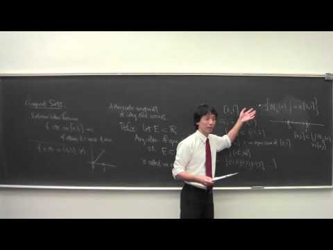 Math 101 Introduction to Analysis 112515: Introduction to Compact Sets