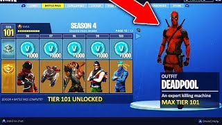 Nouveau! Fortnite Saison 4 INFORMATION! Nouveau Battle Pass Unlocks, Superhero Skins - Plus! #ad